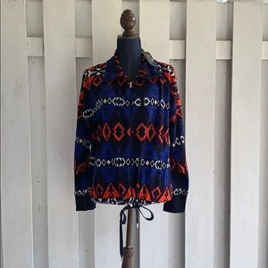 Ralph Lauren Southwestern Aztec Zip Up Jacket